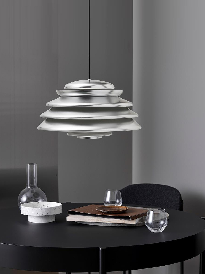 SAMPLE SALE - Hive Pendant Polished Aluminium