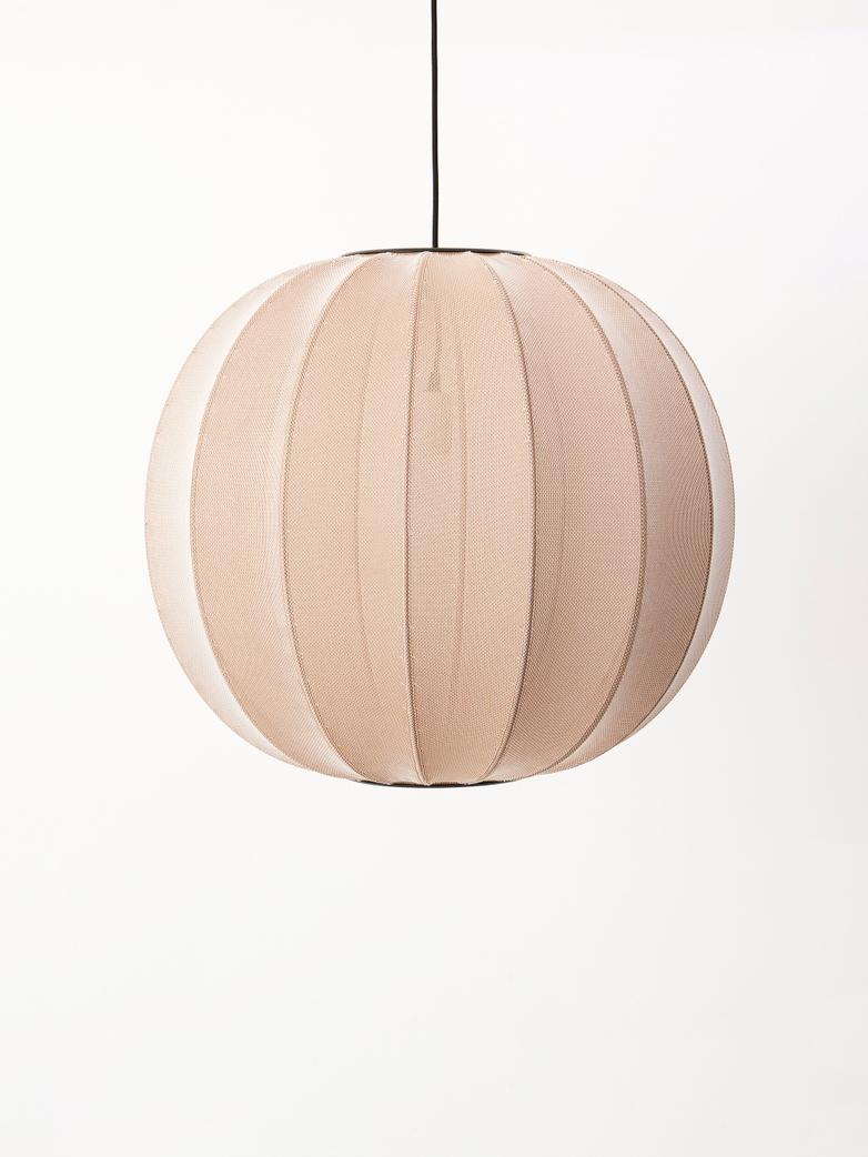 Knit-Wit Pendant – Round Ø60 – Sand Stone