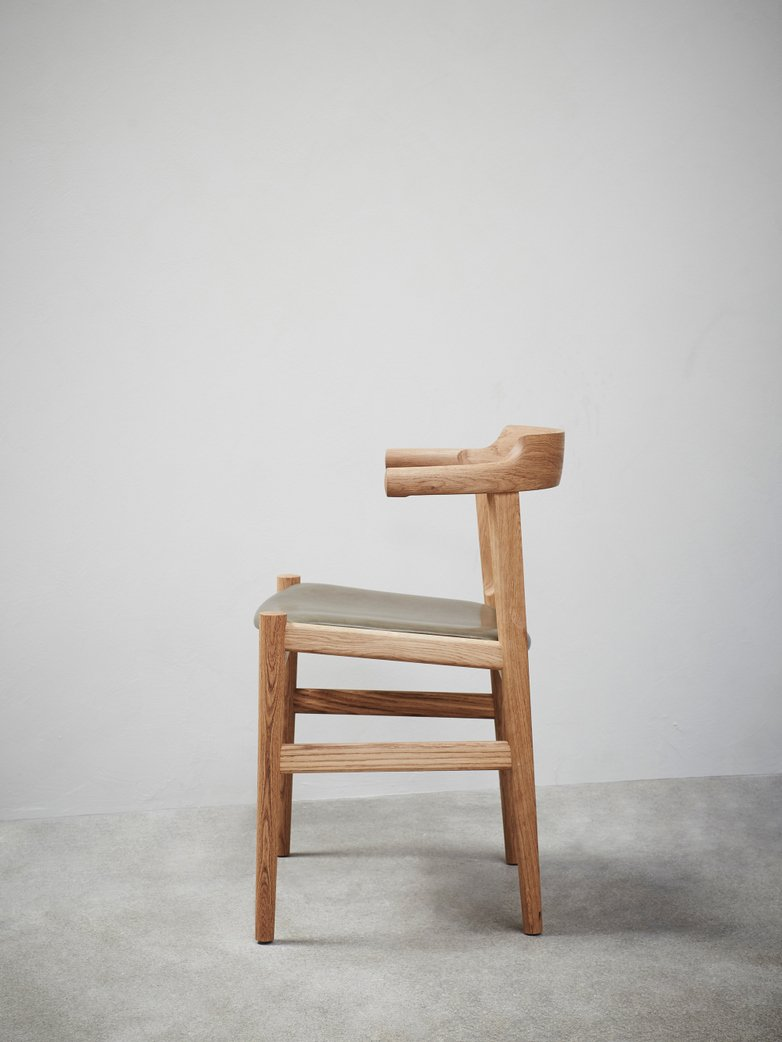 PP58 Chair – Oak – Leather
