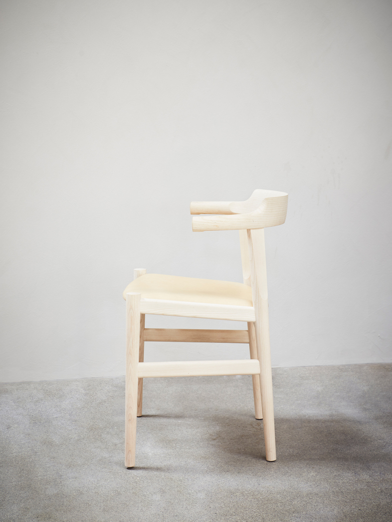 PP58 Chair – Ash – Leather