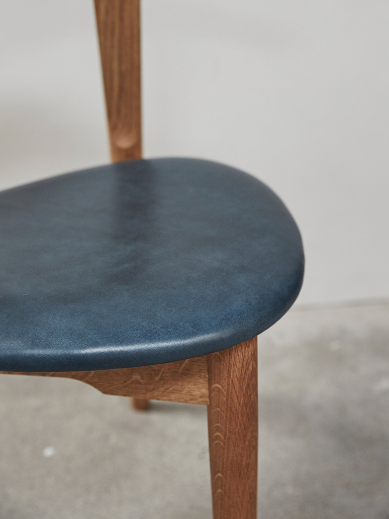 PP58/3 Chair – Oak – Leather