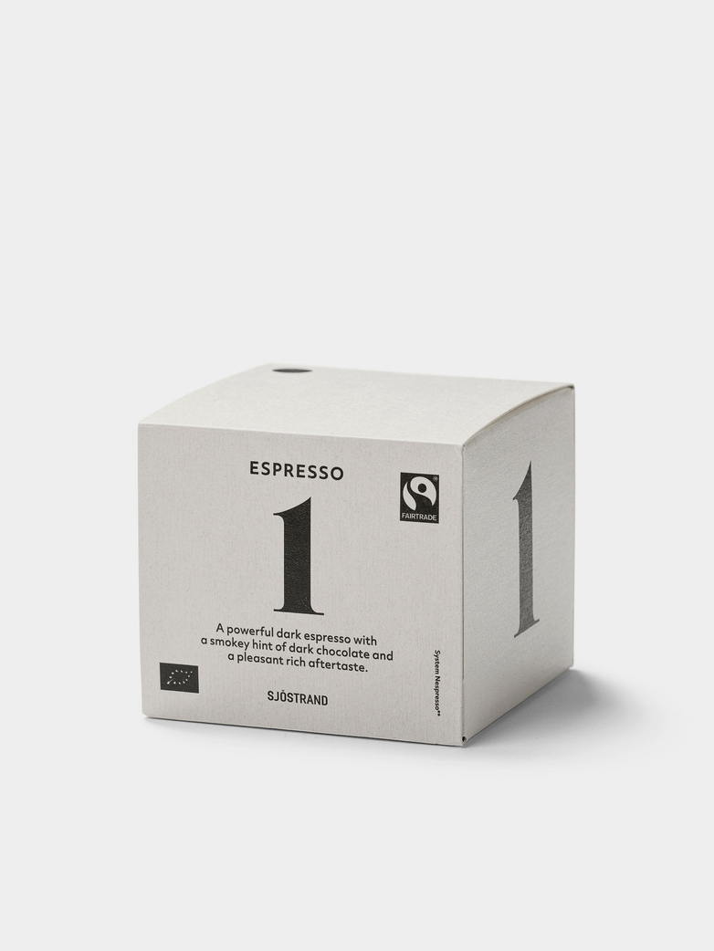No1 Espresso by Sjöstrand