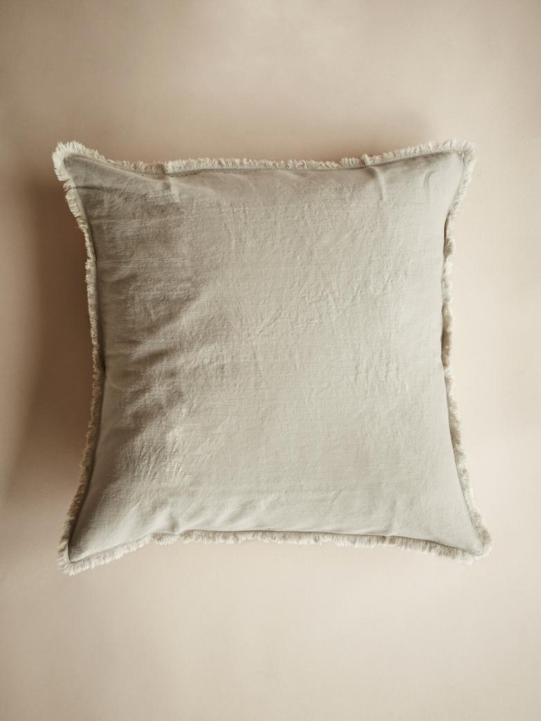 Saten Cushion Cover – Greige – 50x50