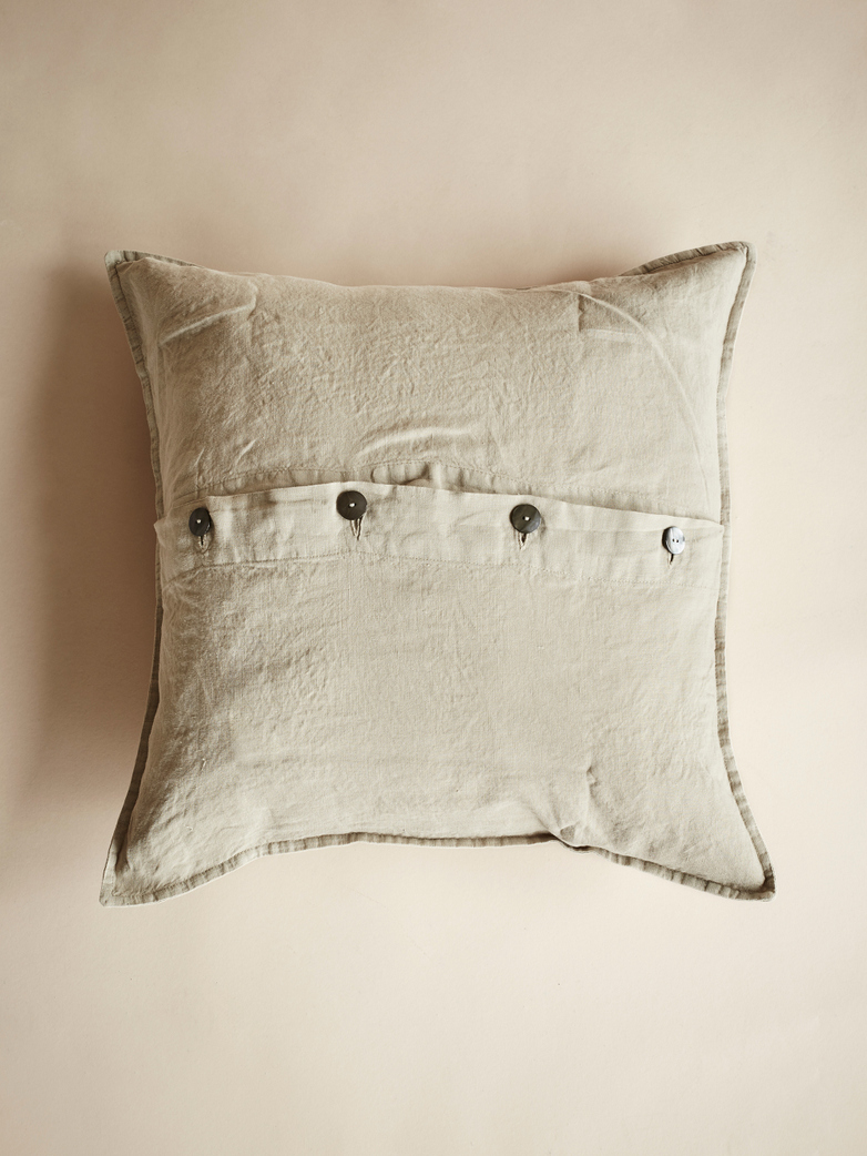 Rem Cushion Cover – Greige – 50x50