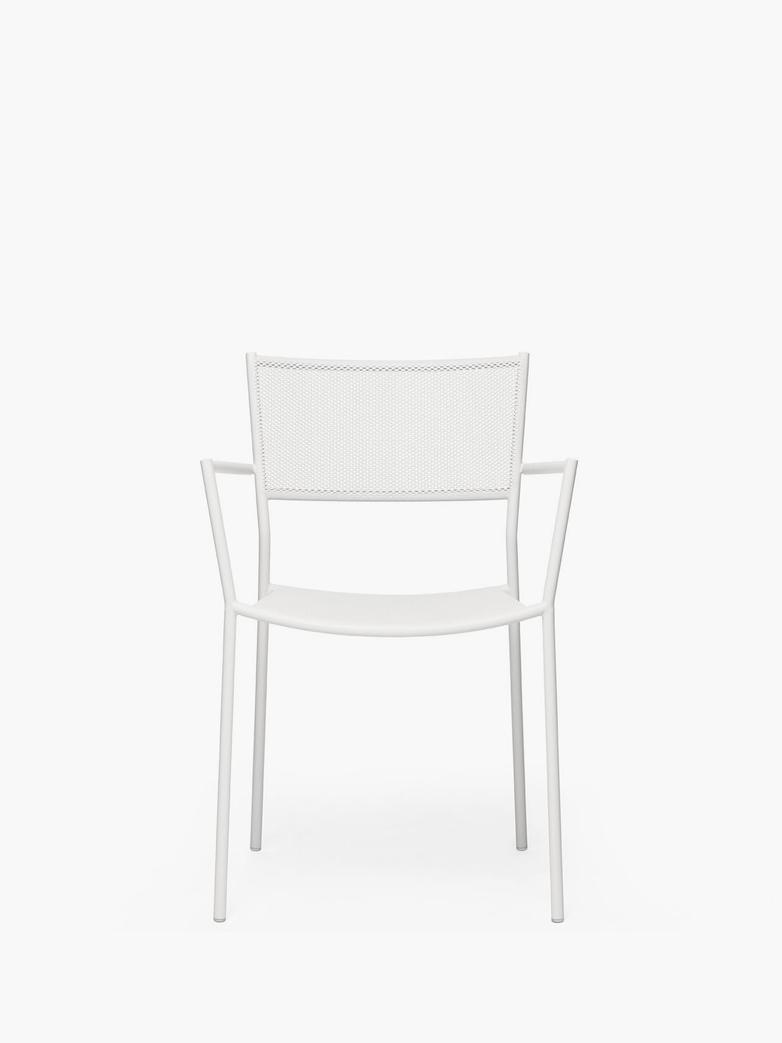 Jig Mesh Armchair – White