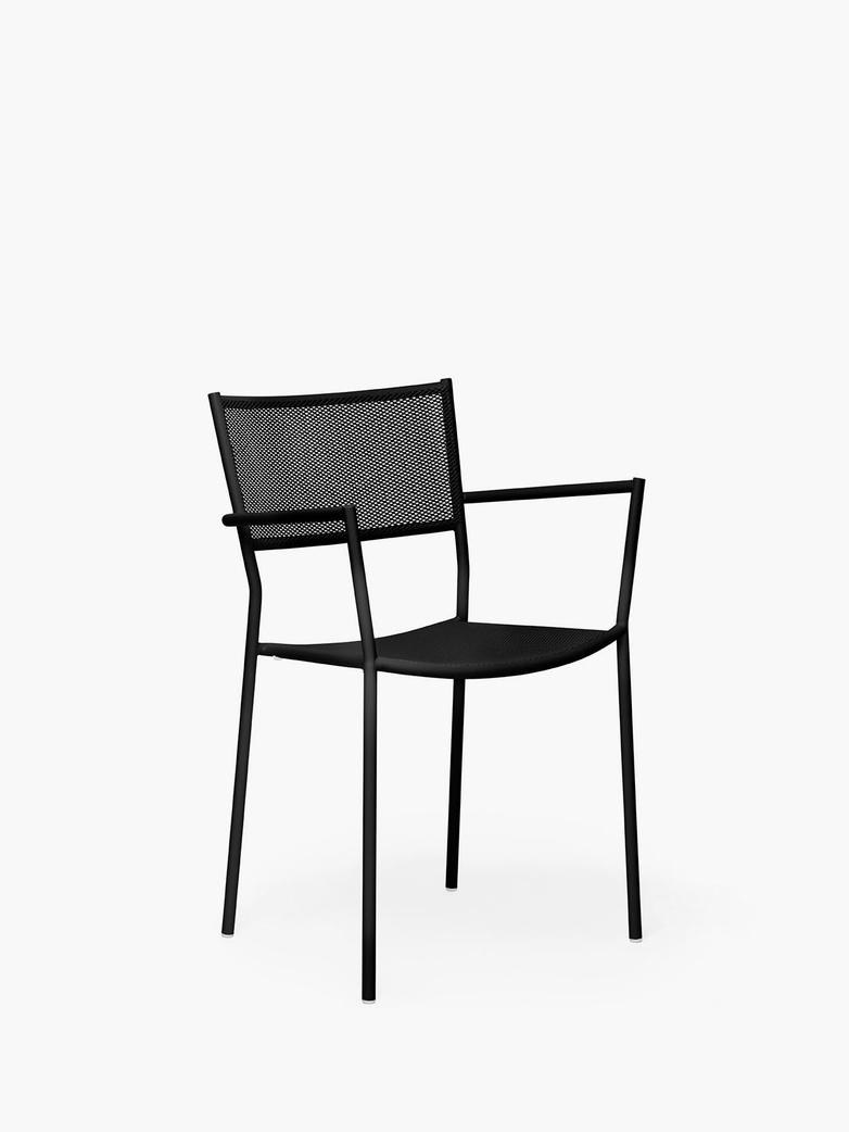 Jig Mesh Armchair – Black
