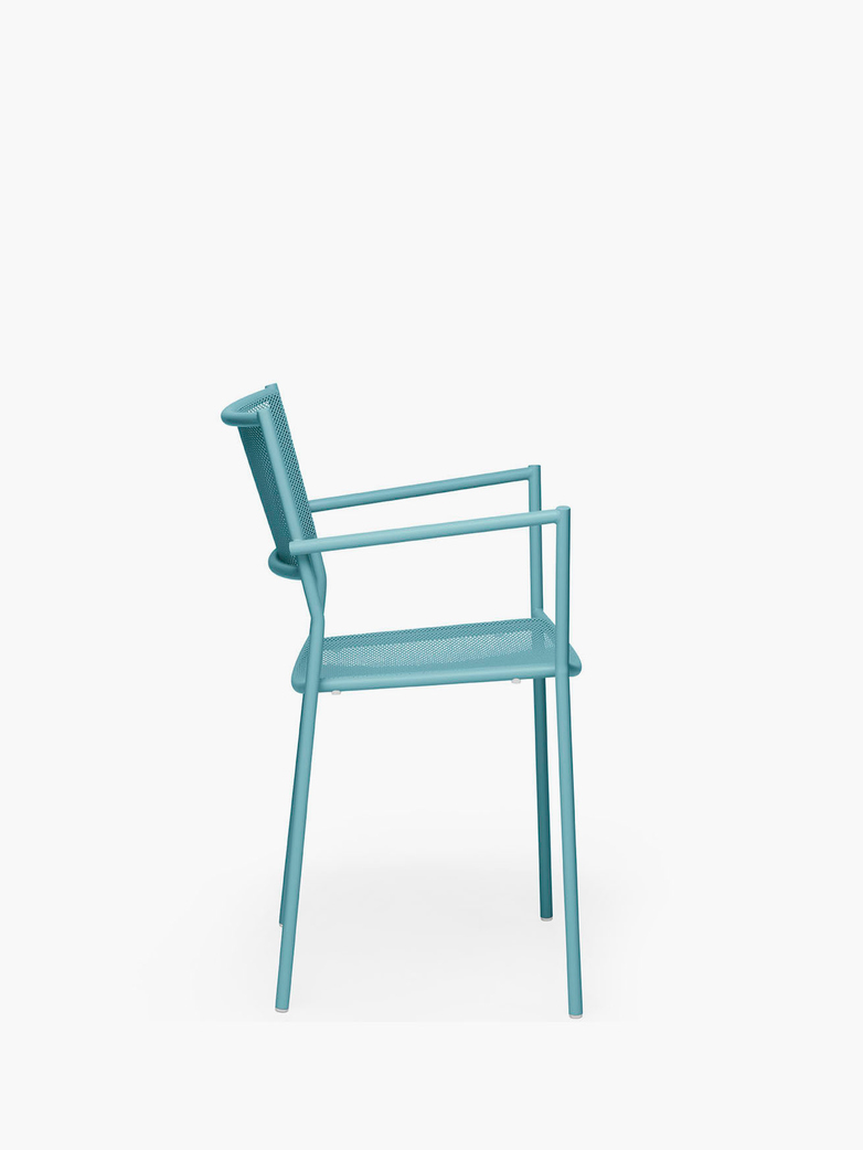 Jig Mesh Armchair – Pastel Turquoise
