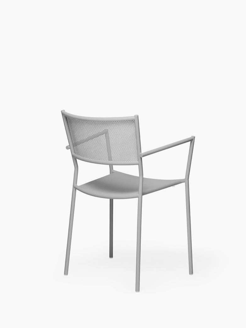 Jig Mesh Armchair – Stone Grey