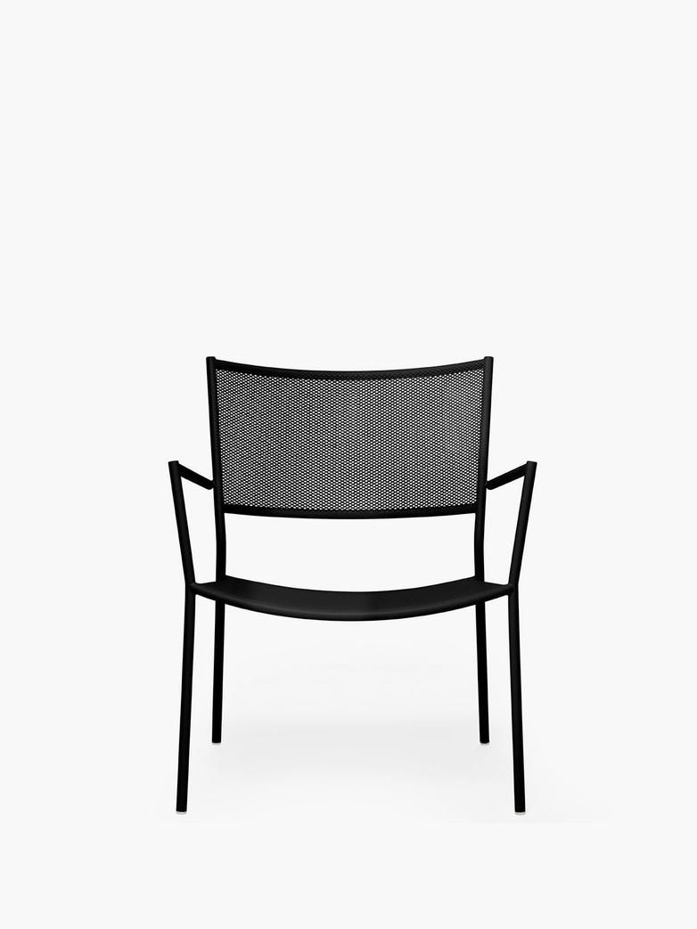 Jig Mesh Easy Chair – Black