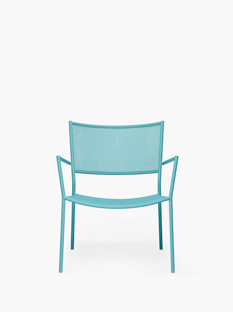 Jig Mesh Easy Chair – Pastel Turquoise