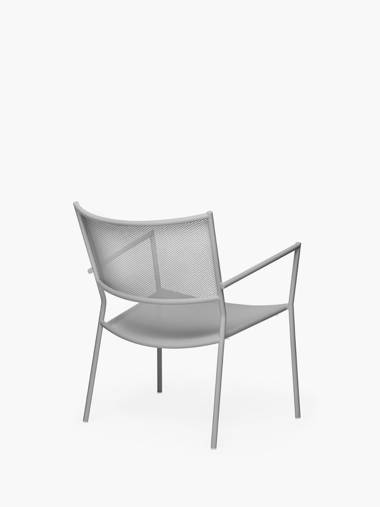 Jig Mesh Easy Chair – Stone Grey