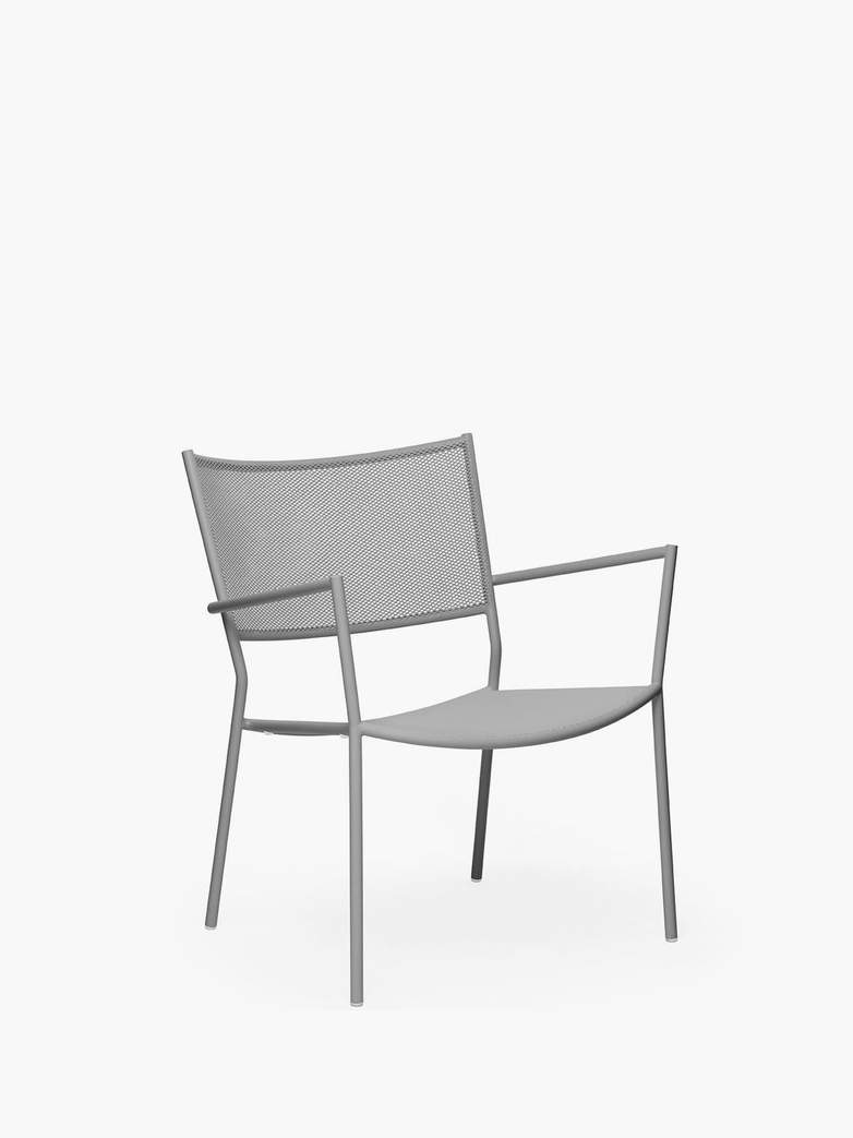 Jig Mesh Easy Chair – Stone Grey