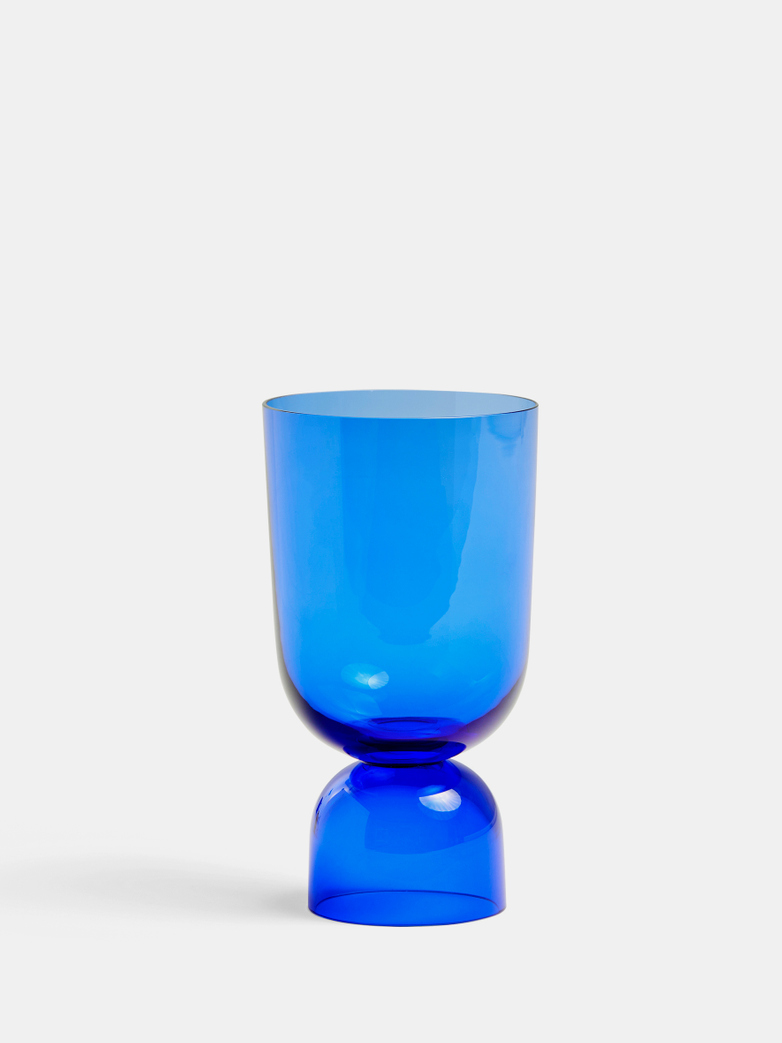 Bottoms Up Vase Electric Blue Small