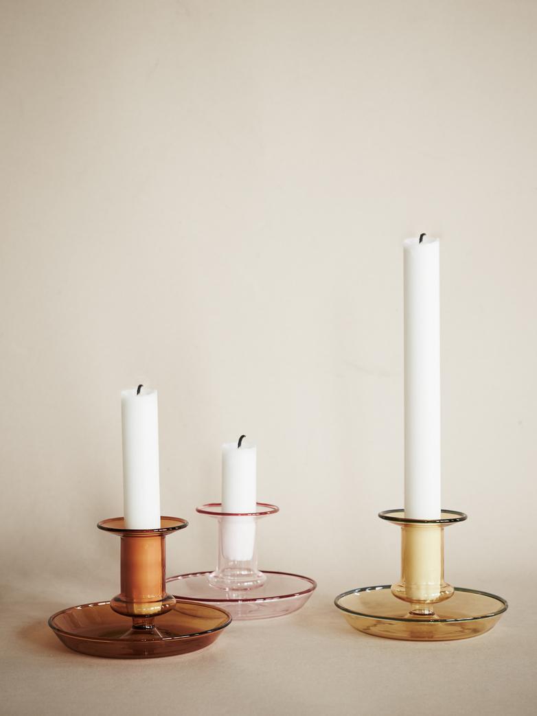 Flare Candleholder – Pink