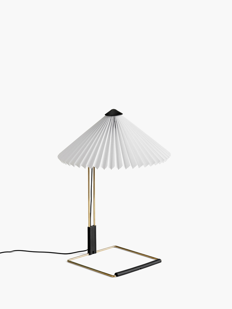 Matin Table Lamp – Pure White – Small