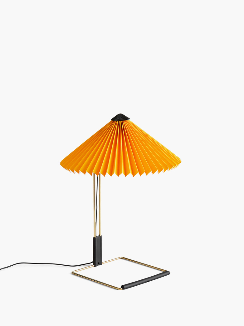 Matin Table Lamp – Yellow – Small