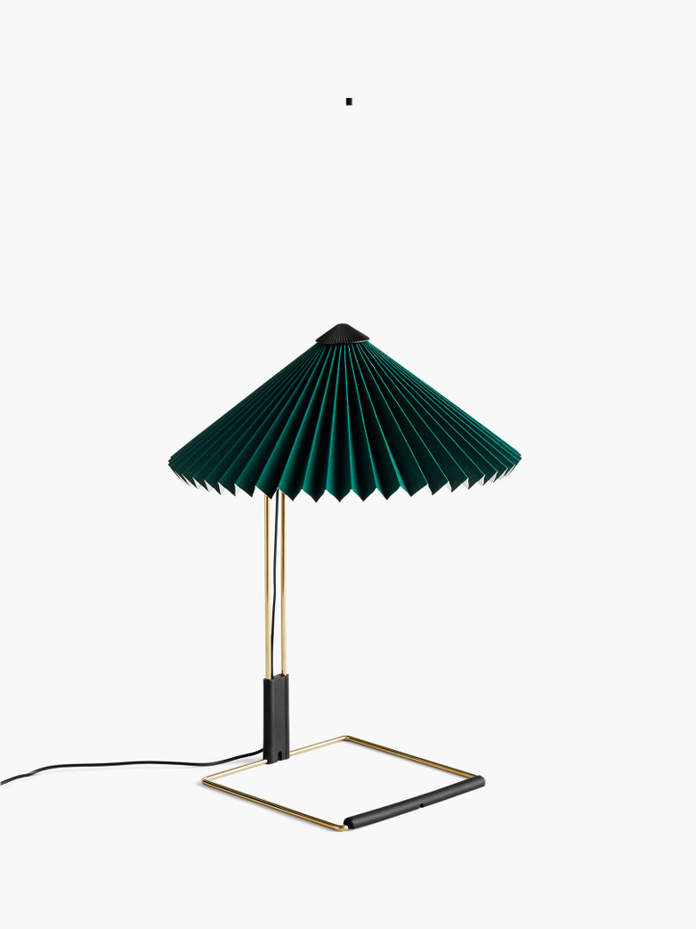 Matin Table Lamp – Forest Green – Small