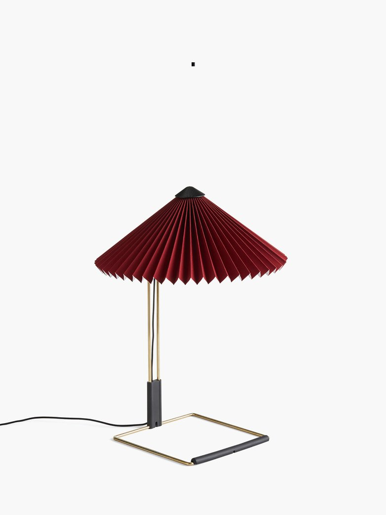 Matin Table Lamp – Oxide Red – Small