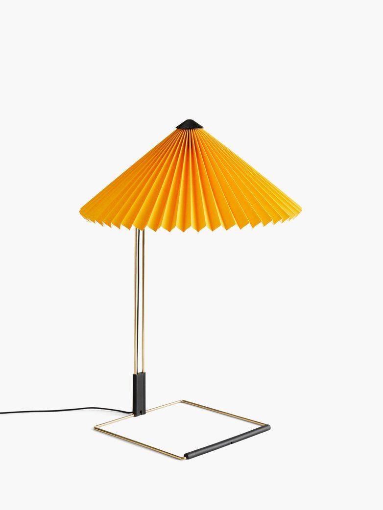 Matin Table Lamp – Yellow – Large