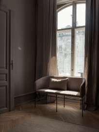 Covent Love Seater – Category F - Sørensen Leather - Royal Nubuck