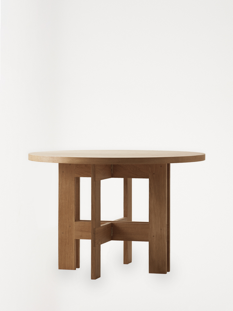 Farmhouse Table – Ø140