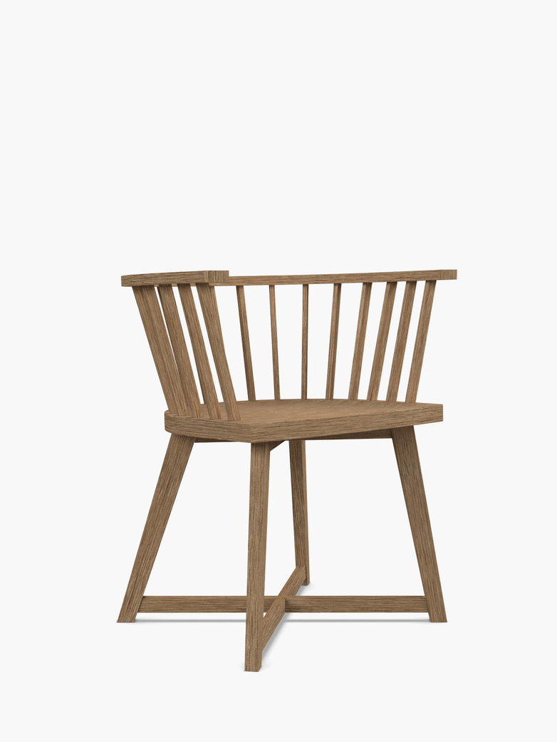Inout 724 S Chair – Bleached Oak