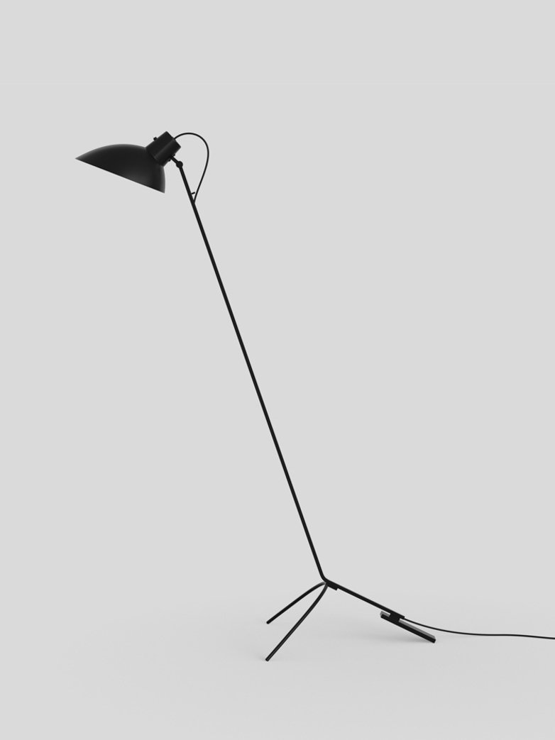 VV Cinquanta Floor Lamp - Black