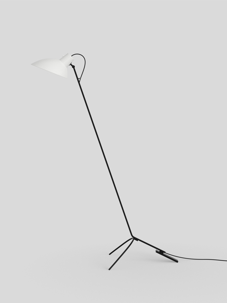 VV Cinquanta Floor Lamp - Black/white