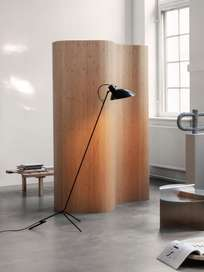 VV Cinquanta Floor Lamp – Black/Yellow