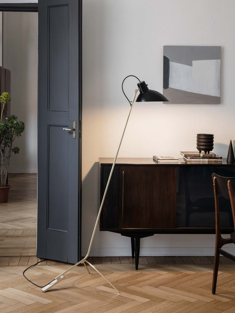 VV Cinquanta Floor Lamp – Brass/Black