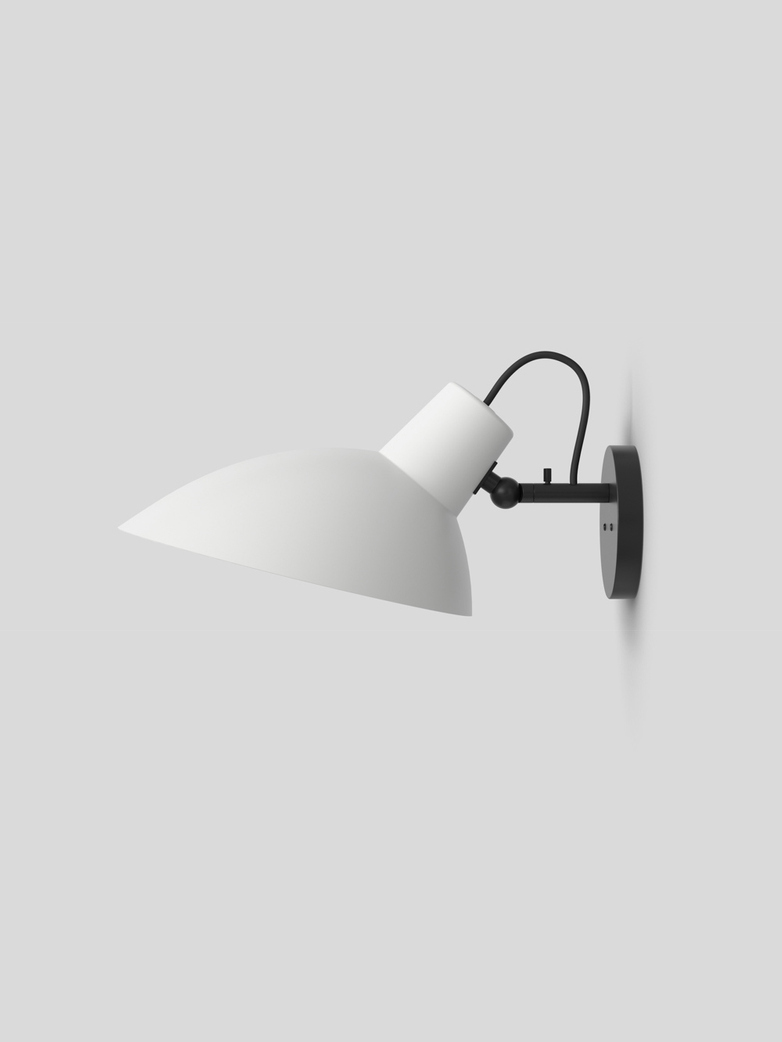VV Cinquanta Wall Lamp – Black/White