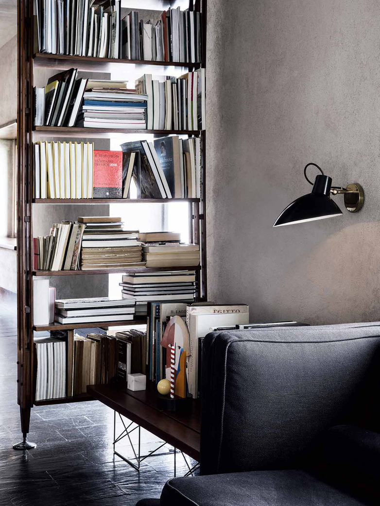 VV Cinquanta Wall Lamp – Black/White