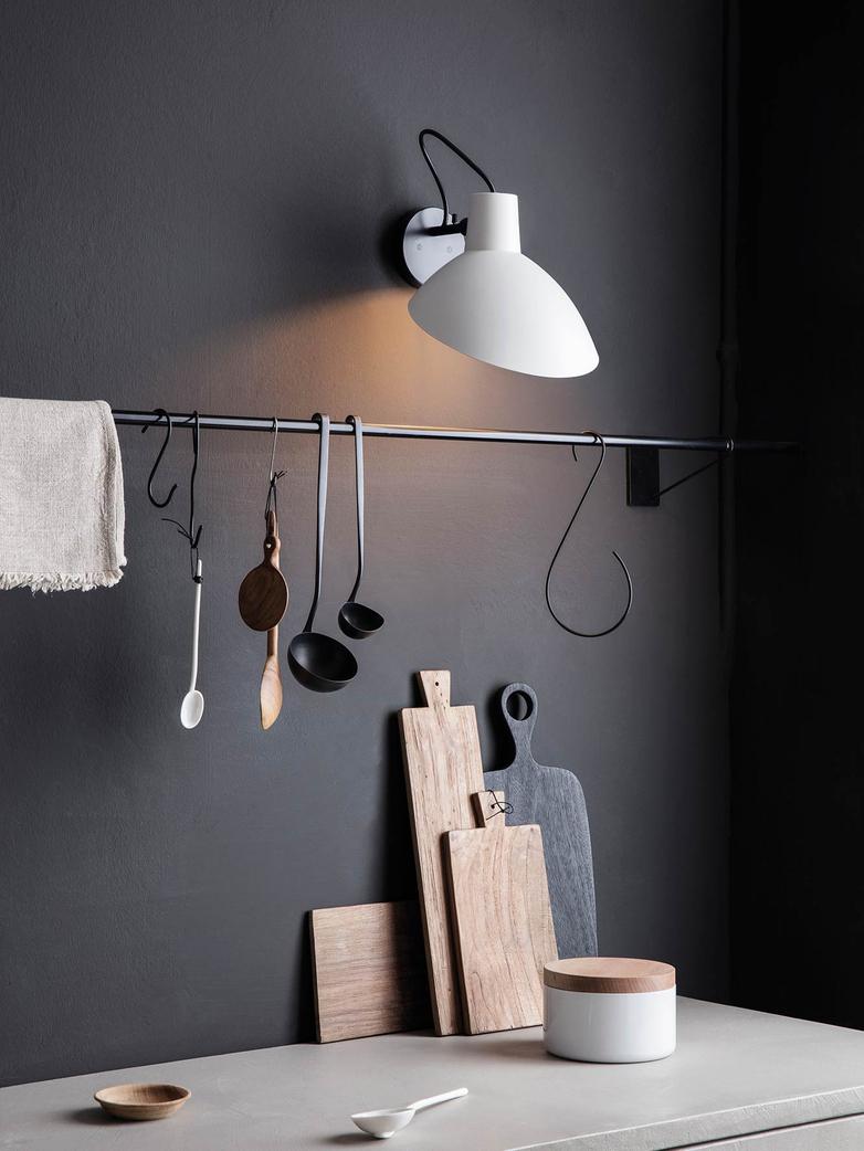 VV Cinquanta Wall Lamp – Black/Yellow