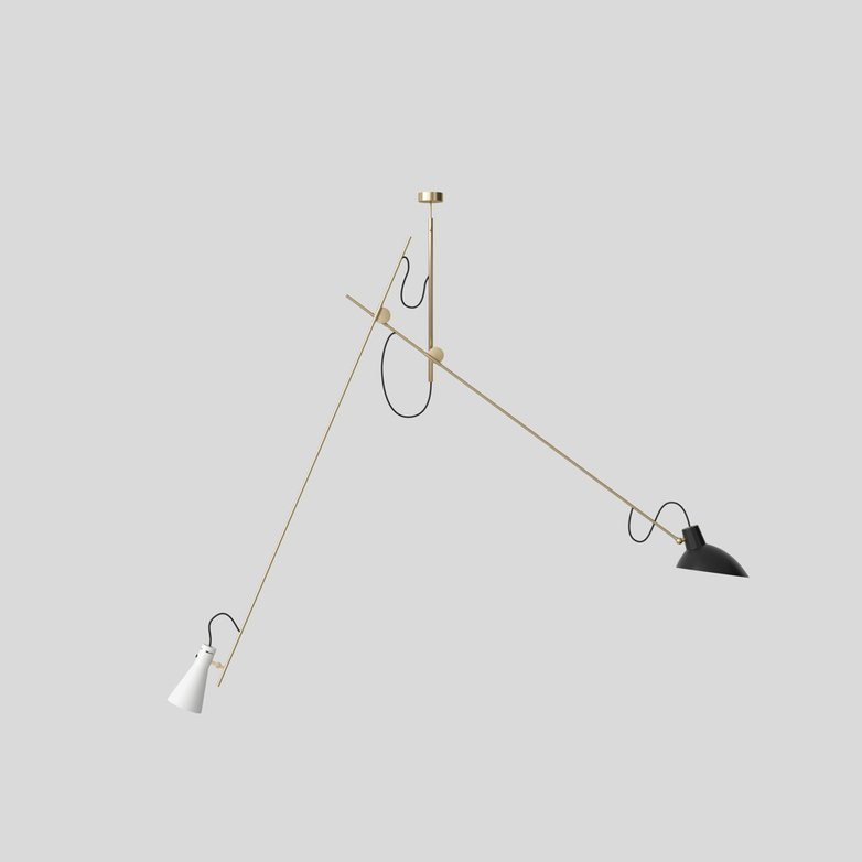 VV Cinquanta Suspension – Brass/Black/White
