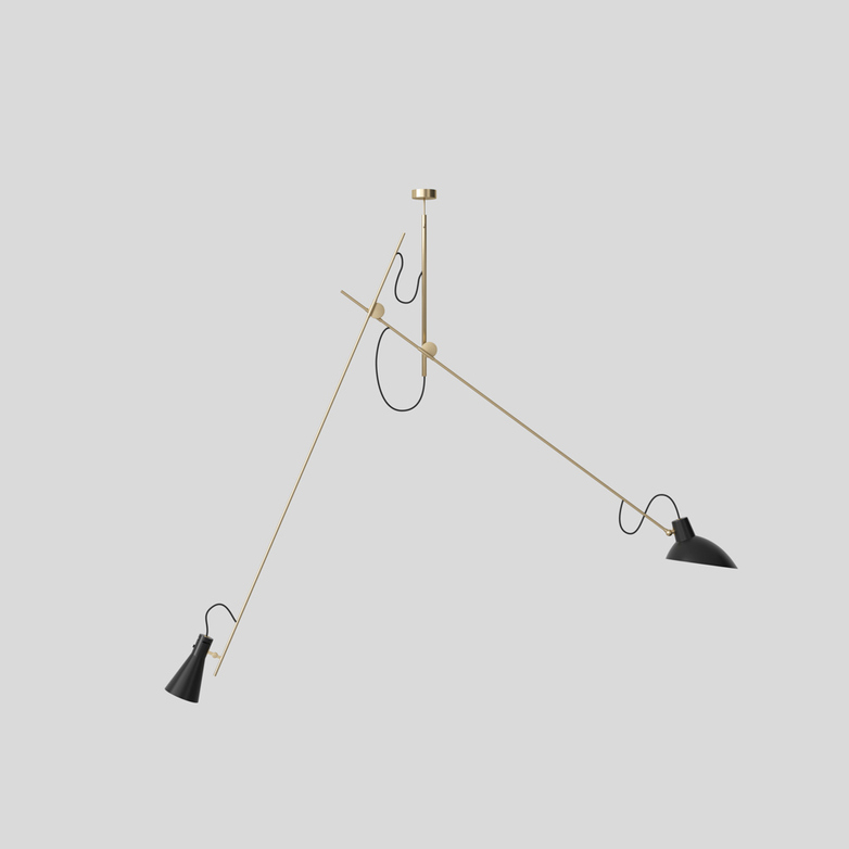 VV Cinquanta Suspension – Brass/Black