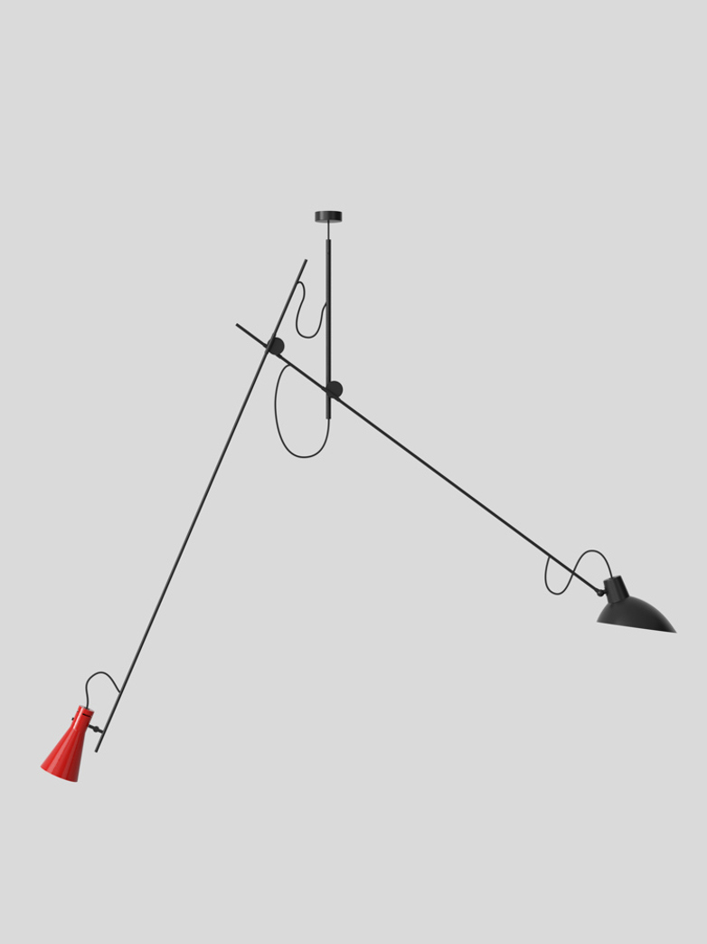 VV Cinquanta Suspension – Black/Red