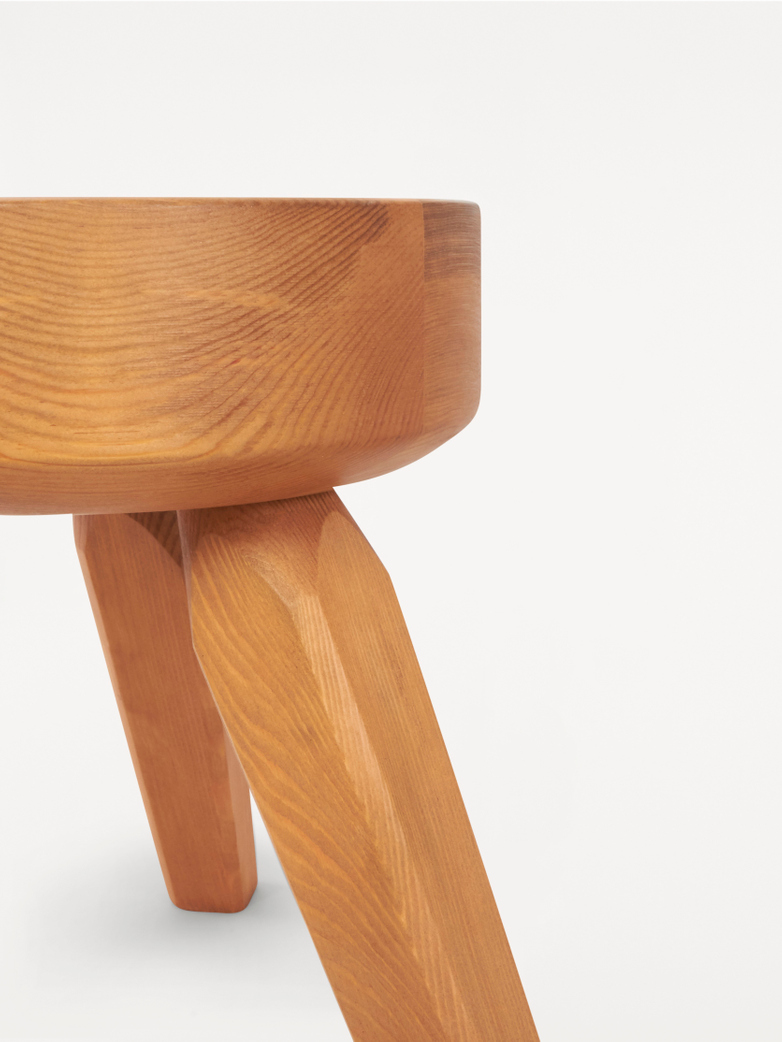 The A.M.L Stool – Pine