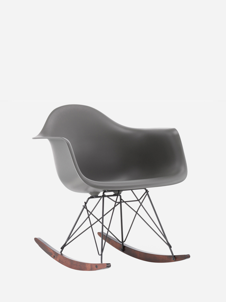 Eames Plastic Armchair RAR – Granite Grey