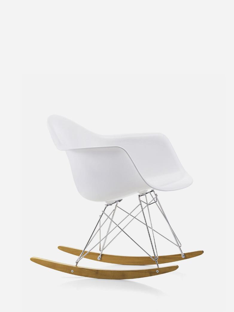 Eames Plastic Armchair – RAR – White
