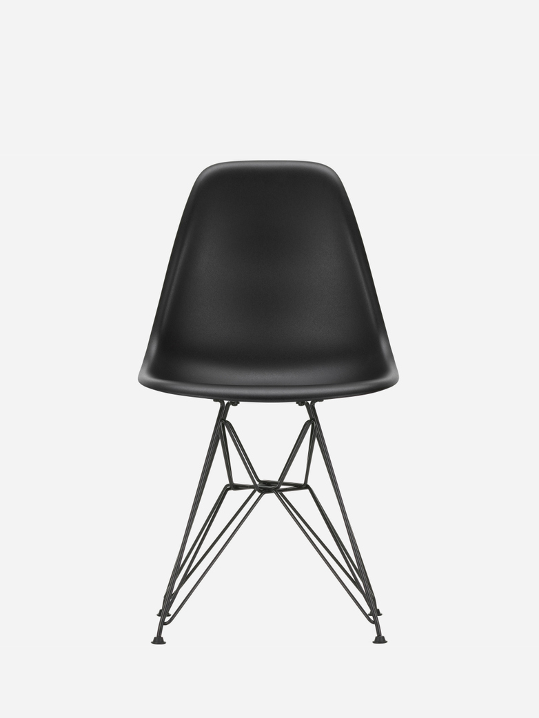 Eames Plastic Chair – DSR – Black – Black