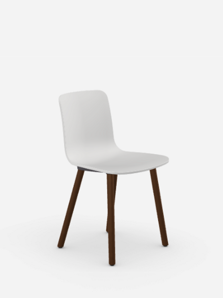 HAL – Walnut – White