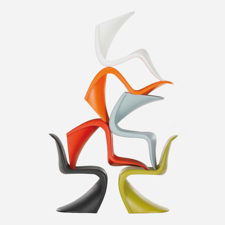 Panton Chair – Tangerine