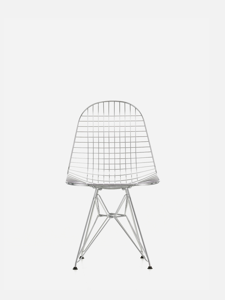 Wire Chair DKR – Chrome
