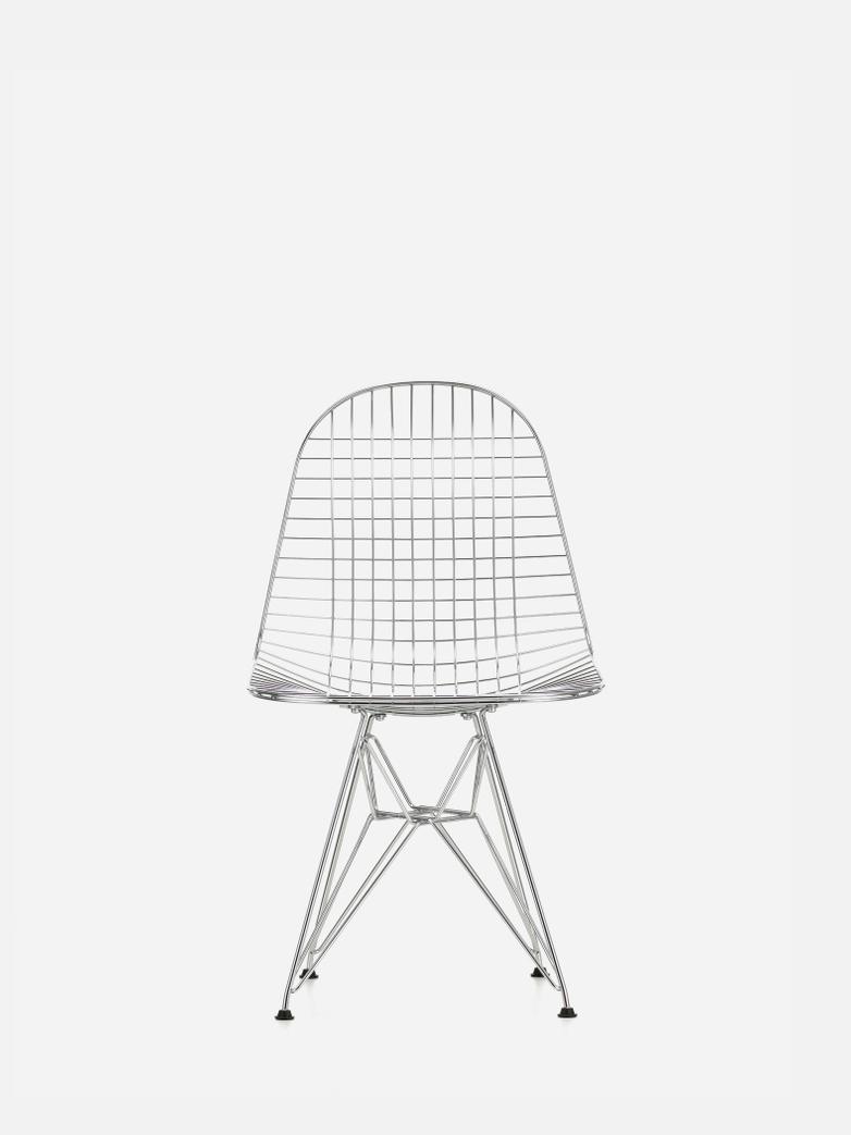 Wire Chair DKR – Chrome