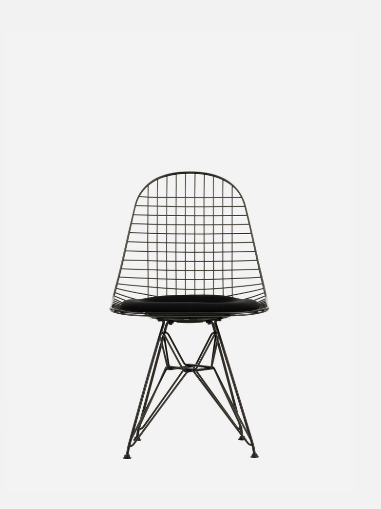 Wire Chair DKR 5 – Black