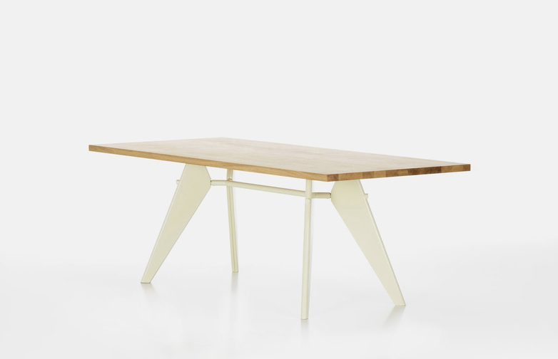 EM Table – Oak/Ecru – 180