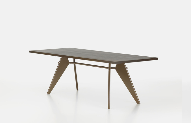 EM Table – Walnut/Coffee – 180