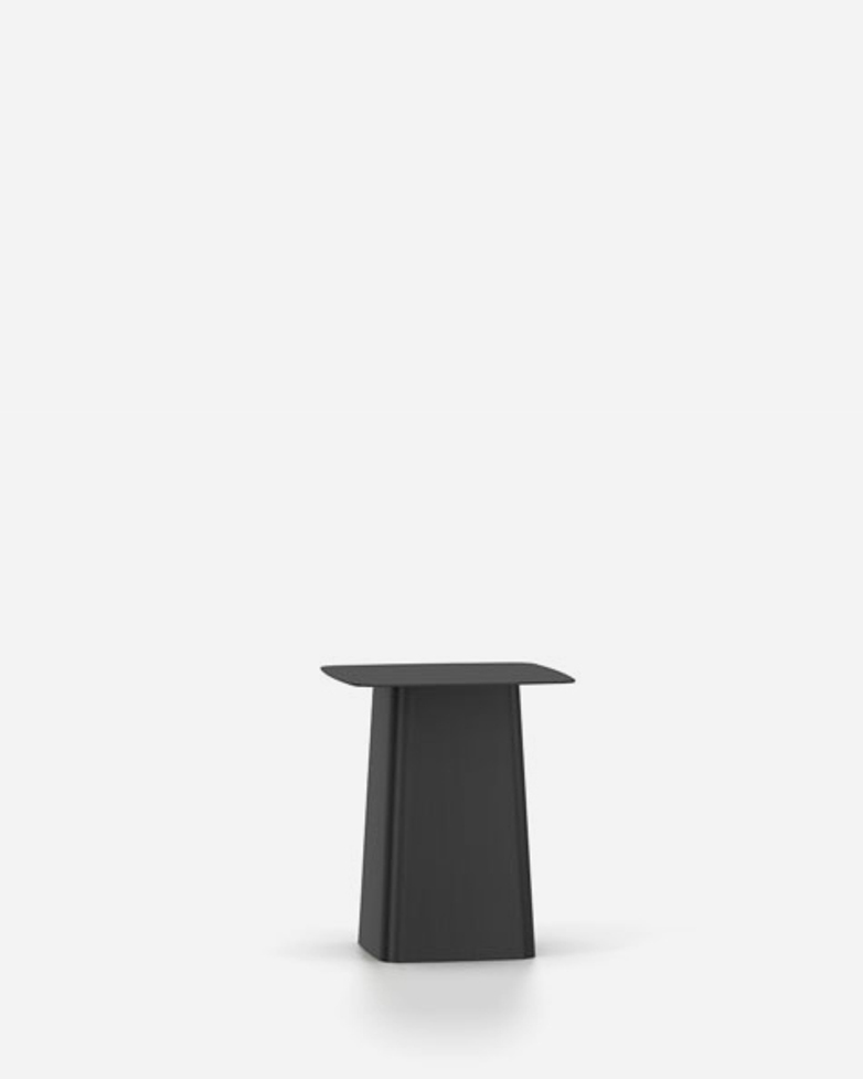 Metal Side Table – Black – Small