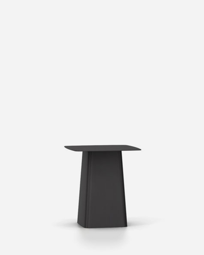 Metal Side Table – Black – Medium