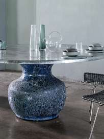 Moon 36 Dining Table – Marble – Ø160